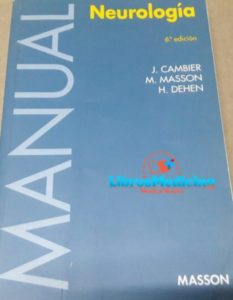 Manual Neurologia – Cambier – 6 Edicion